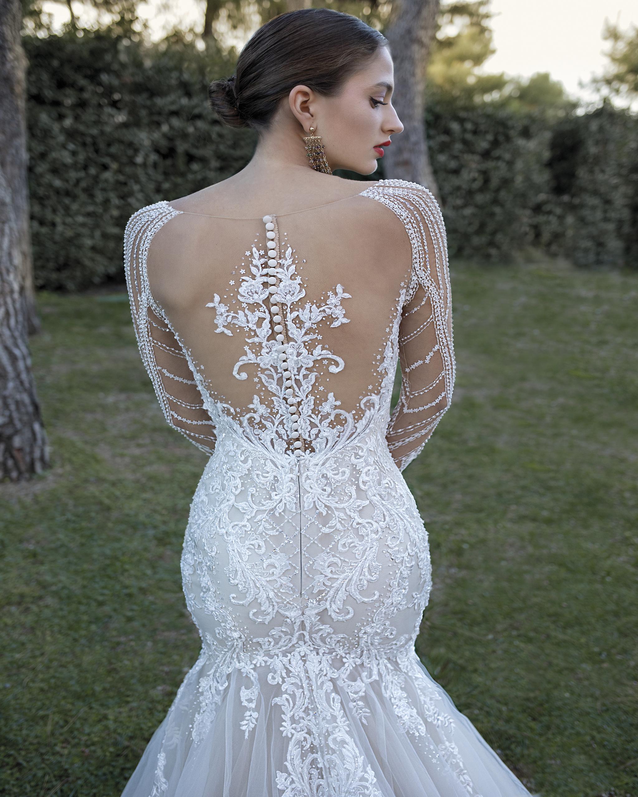 Idées de pose de photo de la mariée seule 2